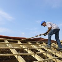 a carpenter roofer who renovated the roof